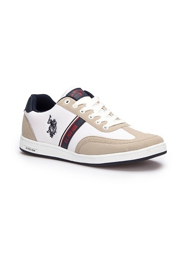 U.S. Polo Assn. U.S. Polo Assn. Kares Beyaz Erkek Sneaker Beyaz